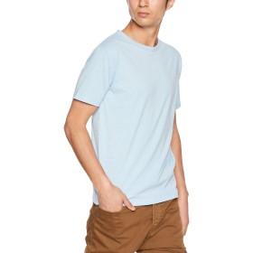 [ヘインズ] Tシャツ カラーズ Colors クルーネック 丸首 24色展開 重ね着 RECOVER(R) Jersey メンズ ヘザーサックス 日本 L (日本サイズL相当)