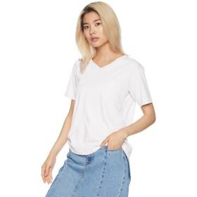 [ウィゴー] Tシャツ デイリーVネックT レディース ホワイト 日本 M (日本サイズM相当)