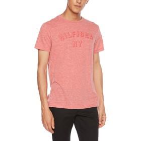 (トミー ヒルフィガー) TOMMY HILFIGER NY ロゴ ヘザー Tシャツ MW0MW07116 メンズ レッド X-Large