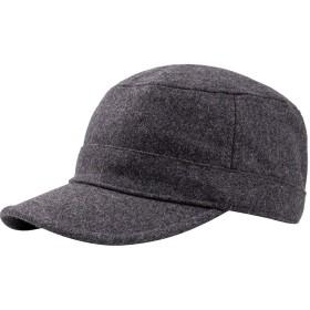Shoebill キャップ 帽子 ワークキャップ メンズ レディース 無地 ダークグレー