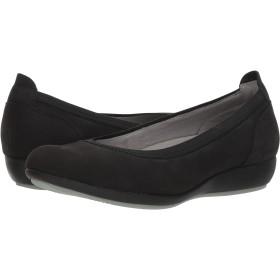 [ダンスコ] レディースフラットシューズ・スリッポン・靴 Kristen Black Milled Nubuck 41 (US Women's 10.5-11) (25.5-26cm) Regular [並行輸入品]