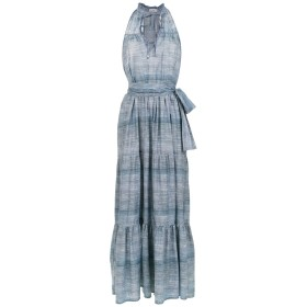 Amir Slama ホルターネック ドレス - ブルー
