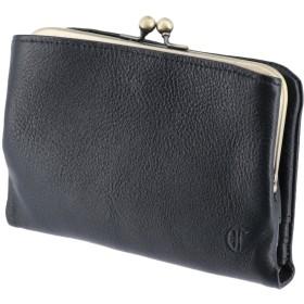 (クレドラン) CLEDRAN 二つ折財布 3.ブラック