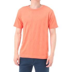 [アズールバイマウジー] Tシャツ 半袖 シャドースタークルーネック半袖T メンズ 251BAS80-025F L オレンジ