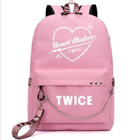 LiLing阿七 応援グッズ ファッション TWICE VIP USB リュックサック ズック 韓国アイドル 周辺 バッグ (3#)