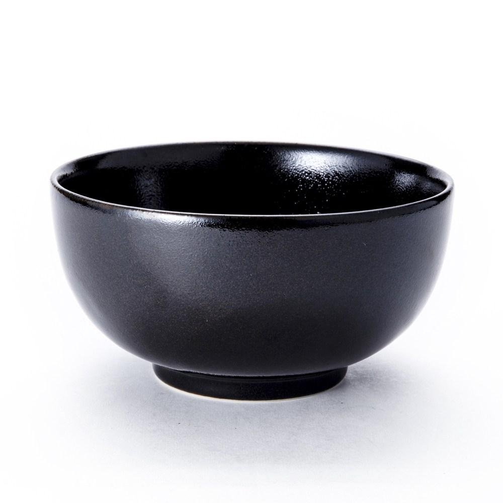 日本 美濃燒飯碗 XL 藍/黑色 混款隨機