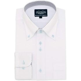 HAVILAH MODE(ハビラモード) ワイシャツ 長袖 形態安定 単品 5柄 【N112・6Lサイズ】