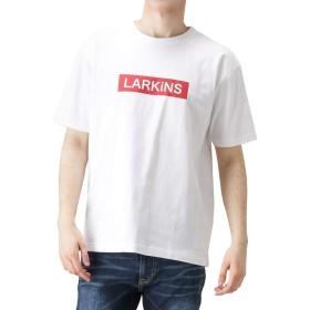 半袖Tシャツ メンズ クルーネック プリント ブランド Tシャツ アメカジ ストリート カジュアル フォトプリント L9072-326 ホワイト:L