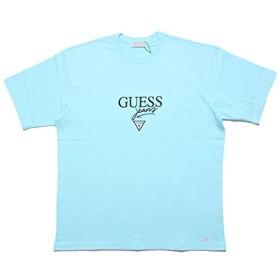 [ゲス グリーンレーベル] GUESS JEANS TEE GRFW17-006-3 Tシャツ L アクア
