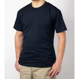 Tシャツ、US.SOFFE.ブラック(T56N-S)コットン無地、階級章ワッペン付