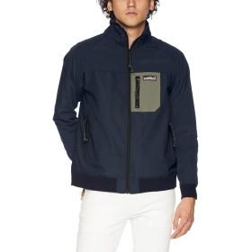 (クリフメイヤー) KRIFF MAYER アクティブスウィングジャケット ハイネックブルゾン スウィングトップ S ネイビー メンズ