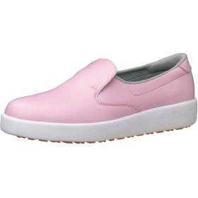 [ミドリ安全] 作業靴 耐滑 スリッポン H700N H700N ピンク(ピンク/26.0)