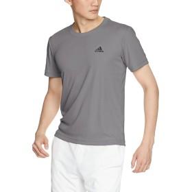 [アディダス] トレーニングウェア D2M ワンポイントロゴTシャツ EUC92 [メンズ] グレーフォアF17 (CX3568) 日本 J/S (日本サイズS相当)