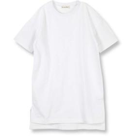 [ブランシェス] ビックシルエット 半袖 ワンピース 110cm オフホワイト