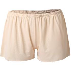 uxcell レディース ペチコート パンツ ショートパンツ 短パン ショーパン ハーフスリップ 綿 普段着 ベージュ XL