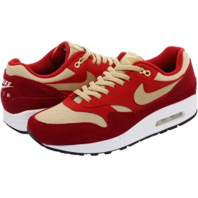 [ナイキ] AIR MAX 1 PREMIUM RETRO TOUGH RED/MUSHROOM/RUSH RED/PALE VANILLA RED CURRY_在庫_US9.5-27.5cm [並行輸入品]