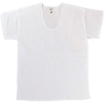 紳士シャツ クレープ肌着 綿100% 日本製
