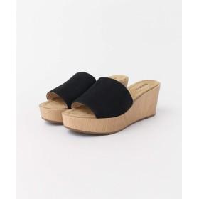 [サニーレーベル] 靴 サンダル maypol ウェッジサンダル レディース BLACK 38