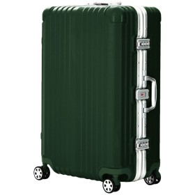 LEGEND WALKER PREMIUM GRAND BLADE ブレイド スーツケース ハードケース キャリーケース 遺失物発見サービス OKOBAN 4輪 TSAロック 71L 5601-64 (グリーン)