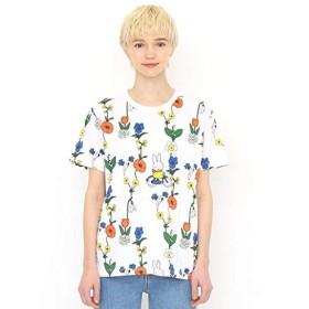 グラニフ(graniph) 【ユニセックス】コラボレーションTシャツ/お花とミッフィー(ミッフィー)【001ホワイト/M】