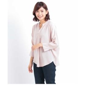 (アーヴェヴェ) a.v.v ビキモウサテンスキッパーシャツ[WEB限定サイズ] K2BID78039 M ピンク
