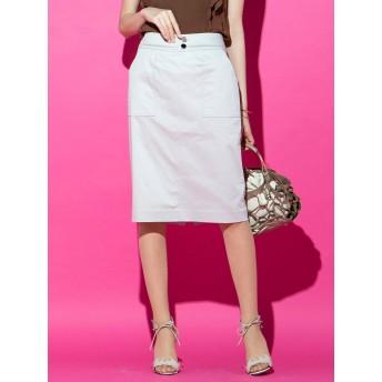 (ビッキー) VICKY 【WEB別注】サテンタイトスカート 231182995 M ベージュ