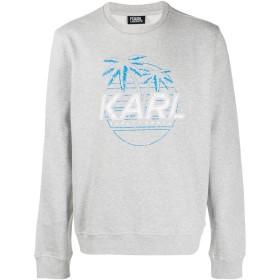 Karl Lagerfeld プリント スウェットシャツ - グレー