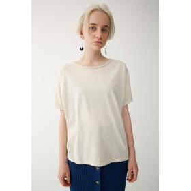 (マウジー) moussy Tシャツ PIGMENT DYE TEE レディース 010BSH80-0940 FREE オフホワイト