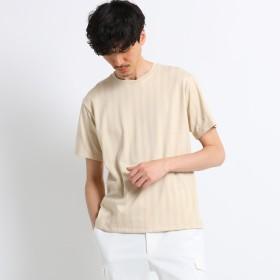 (タケオキクチ) TAKEO KIKUCHI ◆五線譜ストライププルオーバーTシャツ [ メンズ Tシャツ ] 07034047 04(LL) ベージュ(352)