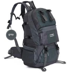 50L軽量ハイキングバックパック、多機能防水カジュアルキャンプキャンプトレッキング登山用登山登山登山用アウトドアスポーツ ( Color : F )