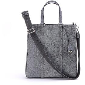 アニアリ トートバッグ Grind Leather 15-02005 BlackWhite