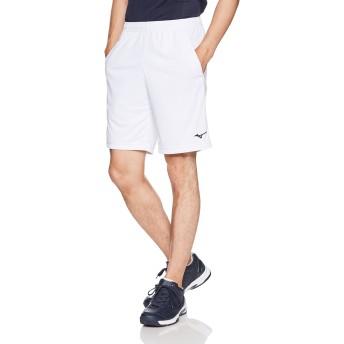 [ミズノ] テニスウェア ゲームパンツ 裏地付き 吸汗速乾 ドライ 部活 練習 試合 ソフトテニス バドミントン認定 男女兼用 62JB8012 ホワイト S