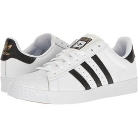 [adidas(アディダス)] メンズスニーカー・カジュアルシューズ・靴 Superstar Vulc ADV White/Black/White Men's 4, Women's 5 (22cm) Medium [並行輸入品]