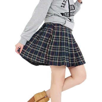 (Goldjapan)ゴールドジャパン 大きいサイズ レディース スカート 21725l-02-07 ネイビー XL(LL)