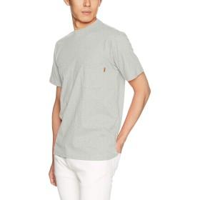 [クリフメイヤー] ブランドロゴTEE 「 ブロック 」 Tシャツ 半袖 バックプリント ポケットTシャツ ポケT トップス コットン クルーネック LARGE グレー