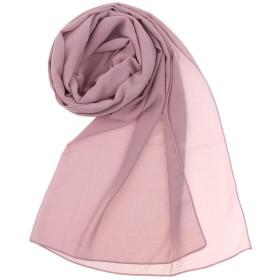 Perfeclan イスラム教徒 ヘッドスカーフ フルカバー 頭 首 肩掛け 薄手 通気性 快適 ほこりピンク