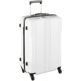 [レジェンドウォーカー] スーツケース 新素材PCファイバー採用 保証付 57L 59 cm 2.9kg ホワイトカーボン