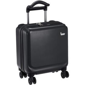 [カナナ プロジェクト] スーツケース等 カナナPJ-12 ハードトロリー コインロッカーサイズ 機内持ち込み可 18L 34 cm 2.4kg ブラック