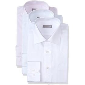 (dresscode101)メンズ 長袖 ワイシャツ ノーアイロン イージーケア 形態安定 3枚セット 4シンプル 3L