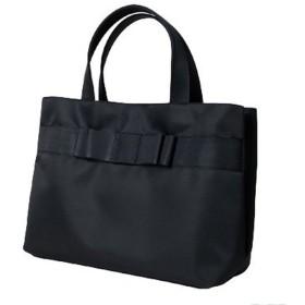 ナイロンサテン生地使用 リボンバッグ【幅広グログランリボン】 日本製