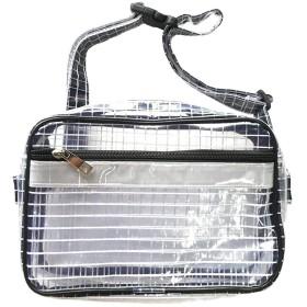(リガトゥ) Ligatoo 軽量 エンジニアバッグ ウエストポーチ 静電気 帯電 防止 透明バッグ クリーンルーム 工具 収納 (ホワイト)