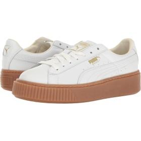 プーマ シューズ スニーカー Basket Platform Core Puma White [並行輸入品]