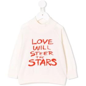 Mini Rodini Love セーター - ホワイト