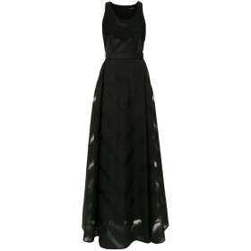 À La Garçonne ロングドレス - ブラック