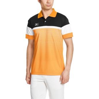 [ミズノ] テニスウェア 62JA7015 メンズ ポップオレンジ S