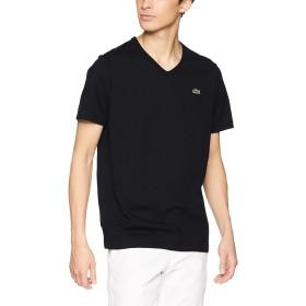 [ラコステ] ベーシック Vネック Tシャツ (半袖) メンズ TH632EM ブラック EU 003 (日本サイズM相当)