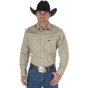Wrangler(ラングラー)メンズ オーセンティックなカウボーイカット ウエスタンワークシャツ 長袖 US サイズ: Medium