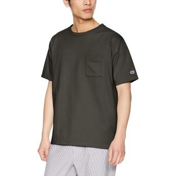 [チャンピオン] ポケットTシャツ C3-P360 メンズ ブラック 日本 L (日本サイズL相当)