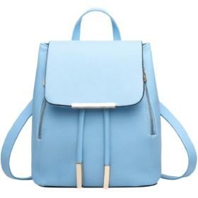 [ルナー ベリー]リュック バッグ おしゃれ かわいい 巾着型 小さめリュック レディース 4402 (パステルブルー) アクア ライト スカイ ブルー 水色 ミント リュックサック キュート 4402 (パステルブルー)