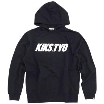 [キックス ティー・ワイ・オー] KIKS TYO プルオーバー パーカー メンズ ロゴ サイズM ブラック